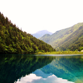 JiuZhaiGou, China  by Won Yee Ong - Landscapes Waterscapes