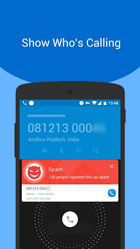 Caller ID - Phone Number Lookup, Call Blocker 1.4.0 screenshots 1