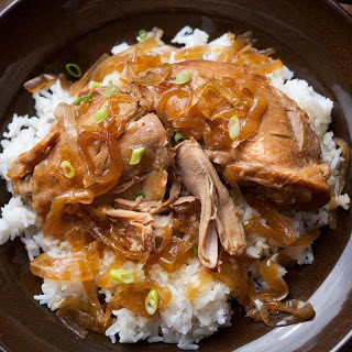 Slow Cooker Chicken Adobo.
