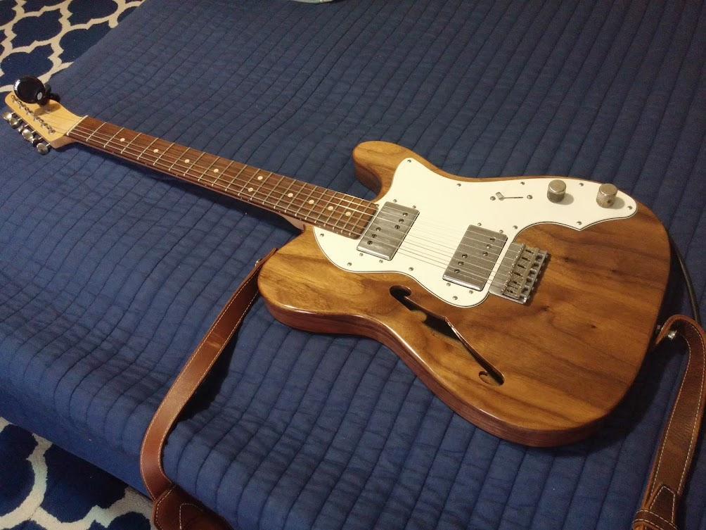 Trying Out Warmoth Roasted Maple | My Les Paul Forum