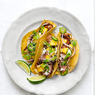 Pork and Pineapple Tacos.