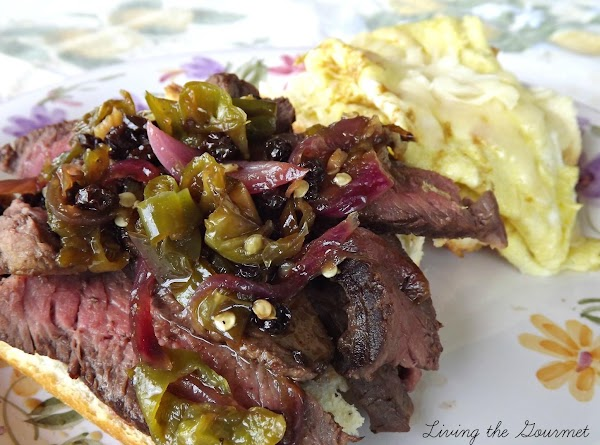 Hot Pepper Chutney With Steak And Eggs Sandwich Recipe