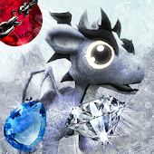 Frozen Dragon Gems Unlocked - Match 3