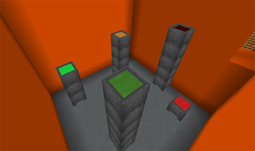Map The Orange [Parkour] for MCPE - náhled