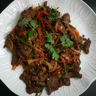 Hot and Spicy Beef (Xiang La Fei Niu Rou).