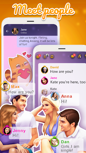 Kiss me: Spin the Bottle, Online Dating and Chat apkpoly screenshots 5