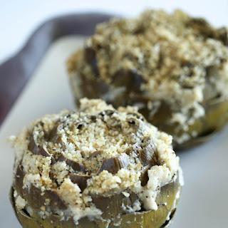 Vegan Italian Stuffed Artichokes Recipe