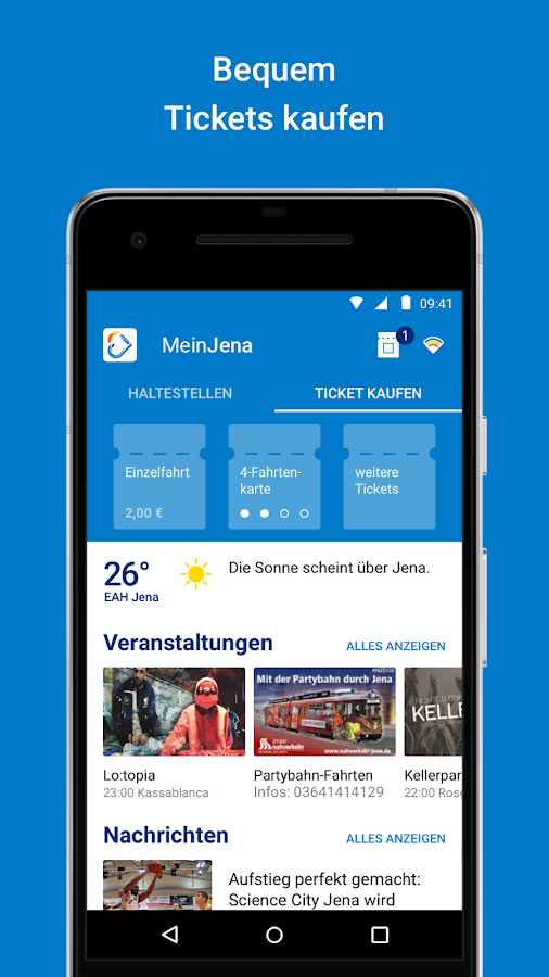 MeinJena ... meine App.- screenshot