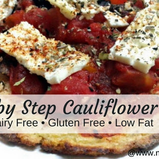Step by Step Cauliflower Crust Recipe
