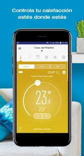 momit Home Thermostat: miniatura de captura de pantalla