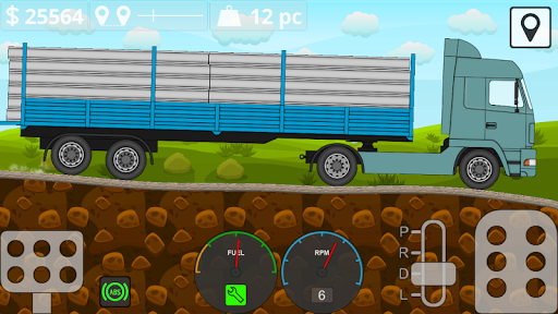 Mini Trucker - 2D offroad truck simulator filehippodl screenshot 8