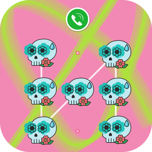 AppLock - Skull Theme