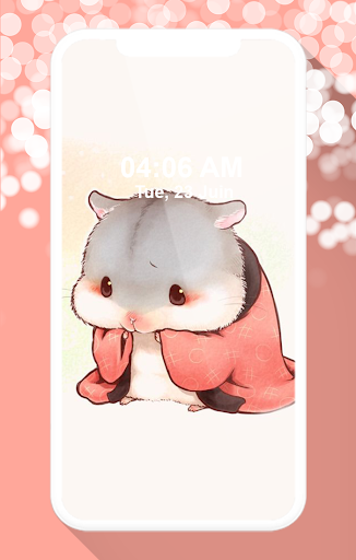 cute hamster wallpapers screenshot 2