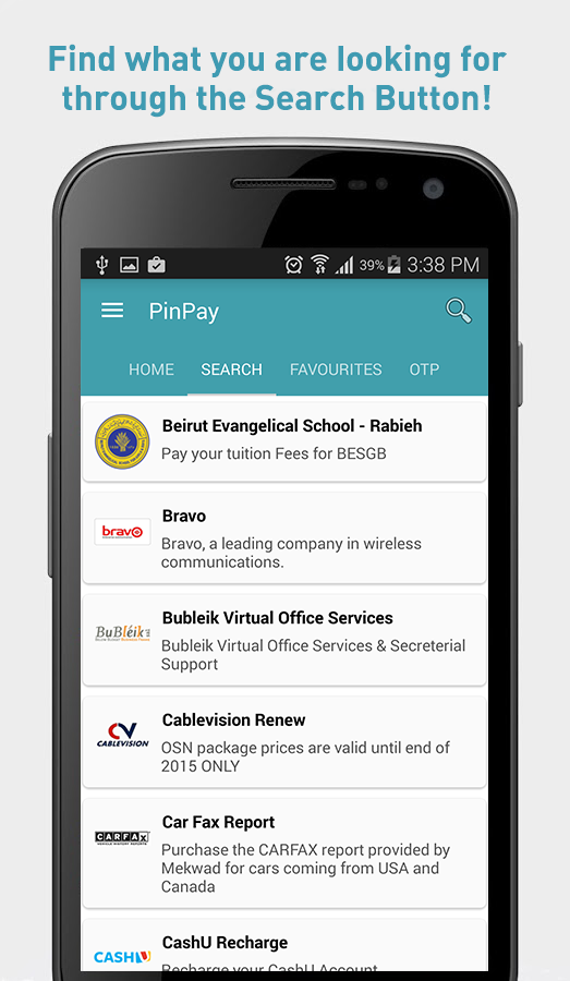 PinPay- screenshot