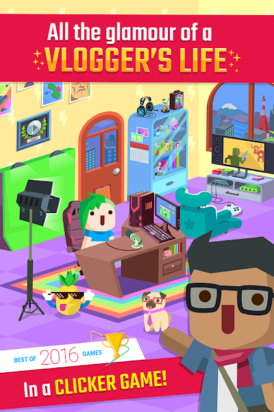 Vlogger Go Viral – Tuber Game v1.14.1 [Mod Money/Unlocked]