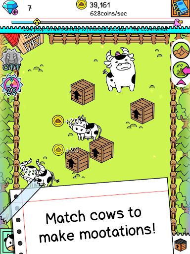 Cow Evolution - Crazy Cow Making Clicker Game screenshot 7