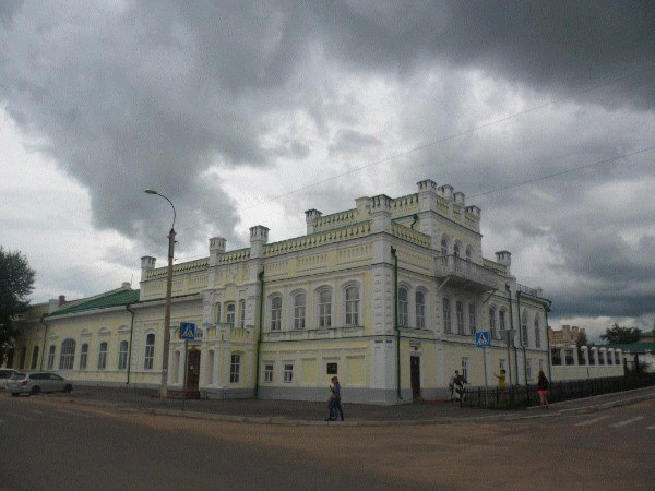 г. Нерчинск, дворец Бутина