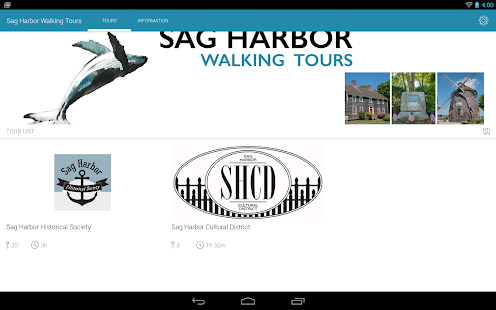 Sag Harbor Walking Tours- screenshot thumbnail