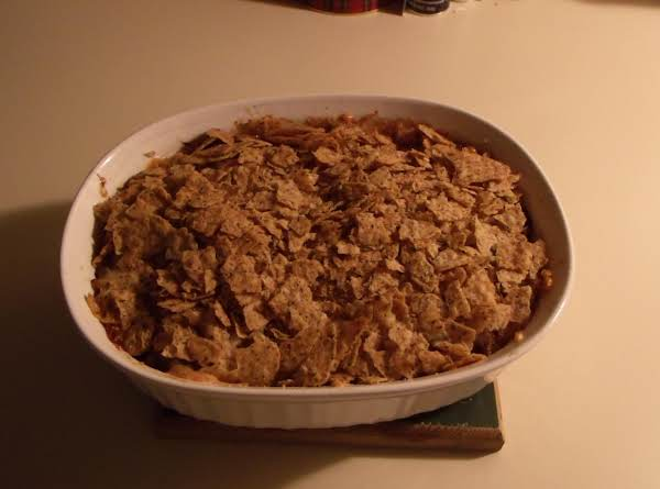 As You Can See, Even Though The Recipe Calls For A Pie Plate, I Find It Fits A Casserole Dish Better.