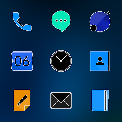 FLUOXYGEN - ICON PACK Screenshot Image