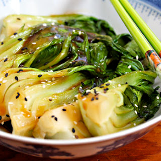 Bok Choy Stir-fry With Ginger And Garlic.