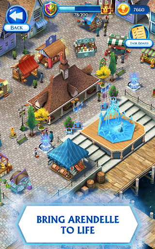 Disney Frozen Free Fall - Play Frozen Puzzle Games screenshot 2