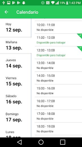 Mercadoni Pilotos ShopperApp  screenshots 3