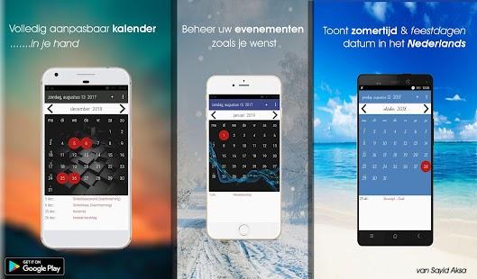 Nederland Kalender - náhled