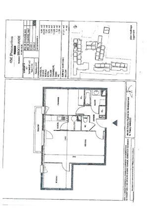 Vente appartement 3 pièces 57,21 m2