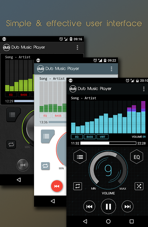 dub music player amplifier android apps on google play. Black Bedroom Furniture Sets. Home Design Ideas