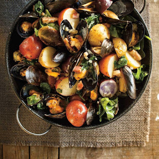 Mussel and Potato Casserole