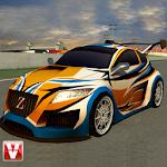 Rally Car Drift Racing Icon