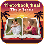 HD PhotoBook Dual Photo Frame