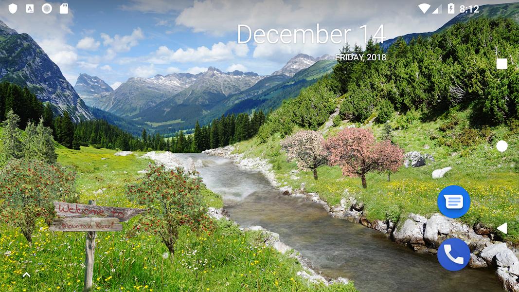 Mountain River Live Wallpaper