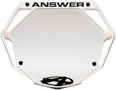 Answer BMX 3D Pro Number Plate alternate image 0
