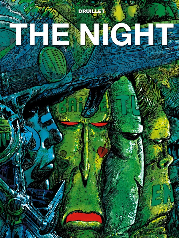 The Druillet Library: The Night (2019)