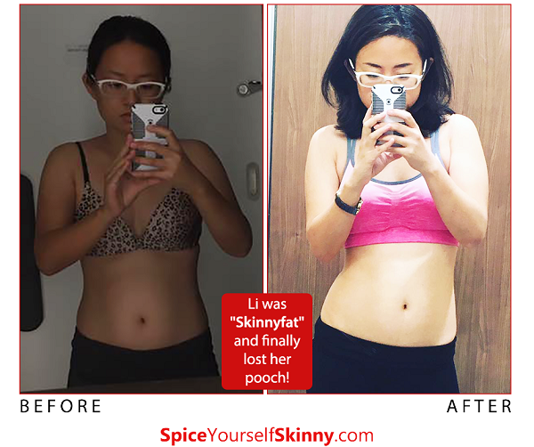 Use spices to gain your tight tummy