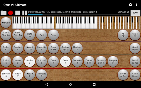 Opus #1 Ultimate-Organ Console screenshot 7