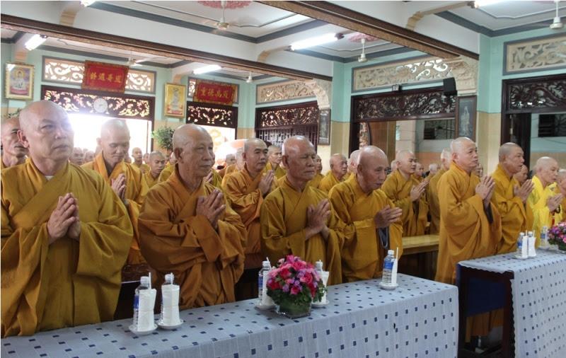 Chư hành giả an cư tại chùa Từ Quang