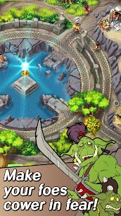 Kingdom Chronicles 2. Free Strategy Game Mod Apk Download For Android and Iphone 4