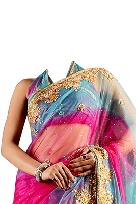 Women Saree Photo Frames - screenshot