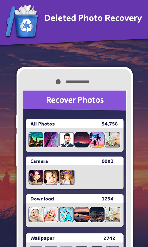 Deleted Photo: Recovery & Restore Screenshot 1