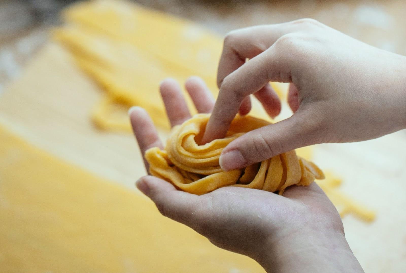 fresh pasta - gluten free pasta recipe - accordingtojo.com