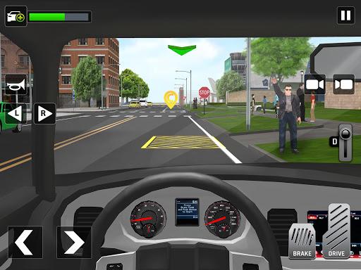 City Taxi Driving: Fun 3D Car Driver Simulator 1.2 screenshots 23