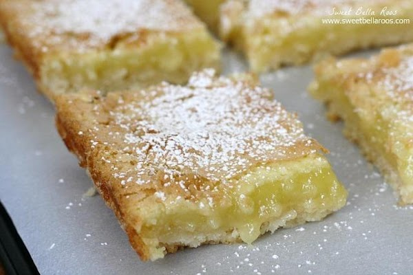 Lemon Bars (sallye) Recipe