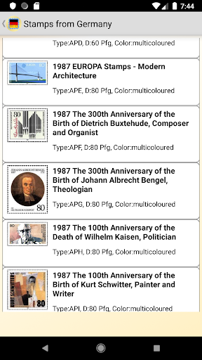 Stamps of German screenshot 5
