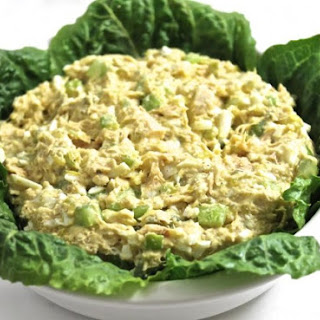 Healthy Tuna Egg Salad