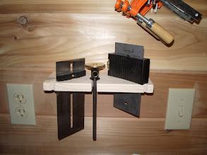 Photo: Veritas Tool-Seting Gauge, Standard Wheel Marking gauge, and Sliding Square