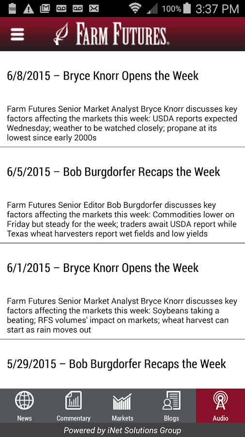 Farm Futures- screenshot