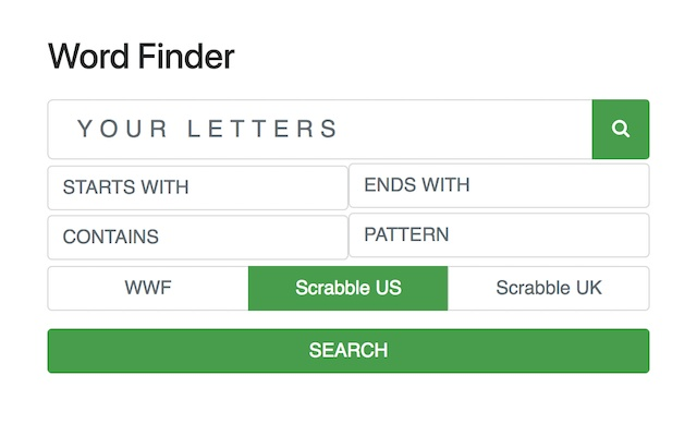 Word Finder from WordTips